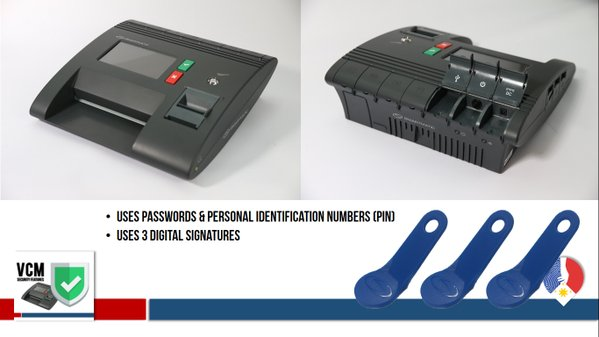 Vote Counting Machine and VCM and Smartmatic SAES 1800Plus