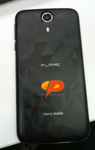 cherry mobile flare xl plus back