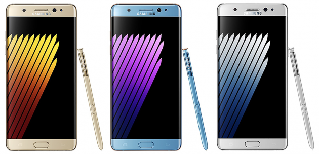 Galaxy Note 7 Front