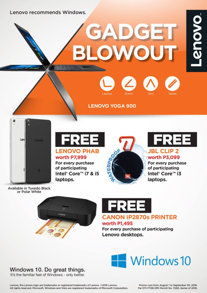 Lenovo Gadget Blowout