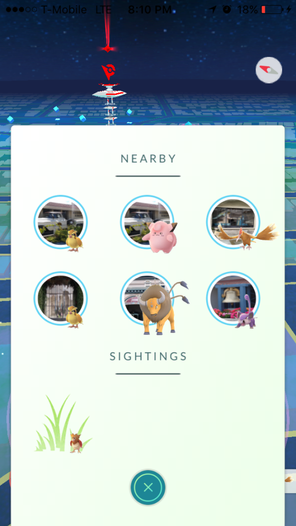 Pokemon Go Tracker 1