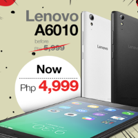 The Lenovo A6010 Just Got A Price Cut Now Only Php 4999
