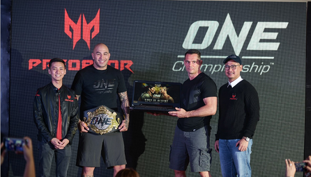 Predator Partners with ONE Championship to conquer new worlds