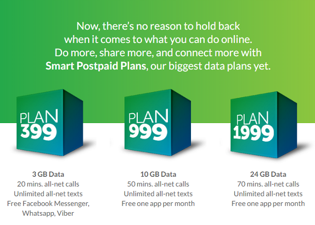New Smart Postpaid plans Have improved data, calls and texts