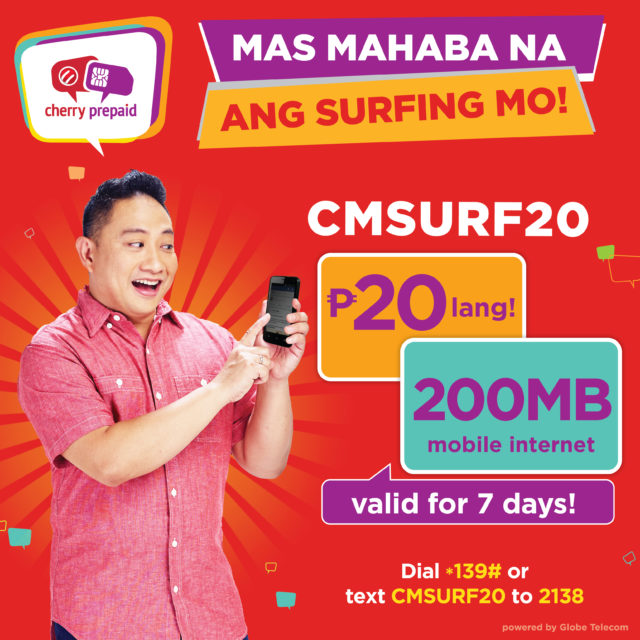 Cherry Prepaid SIM - Data for days, Data made Affordable