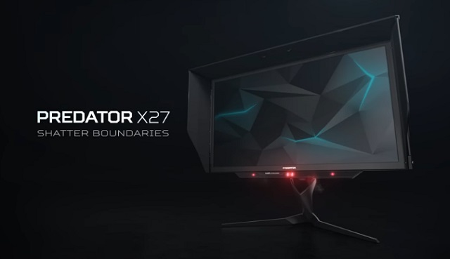 The New Predator Gaming Monitors from acer