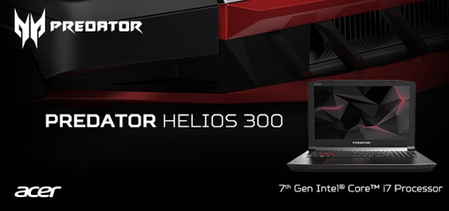 Acer Predator Helios 300 Price and Availability