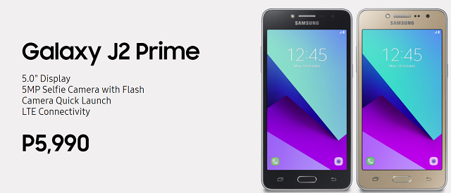 Samsung Galaxy J Prime Series price and availability - The J2 Prime