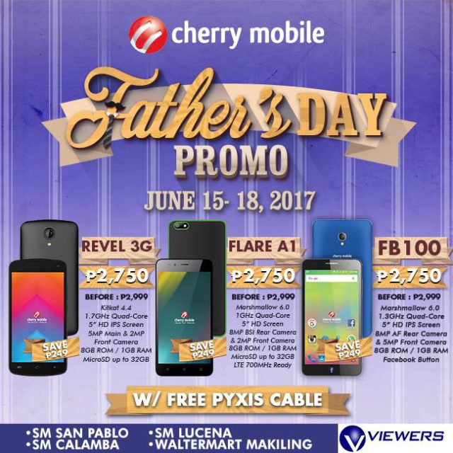 The Cherry Mobile Fathers Day Promo