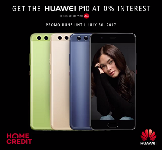 Get The Huawei P10 at 0% Interest