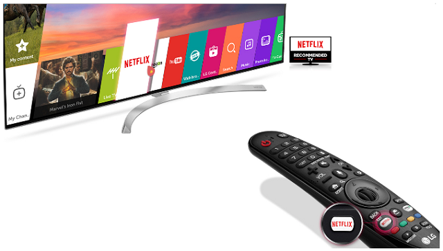 Get 3 Free Months of Netflix with your Next LG Smart TV