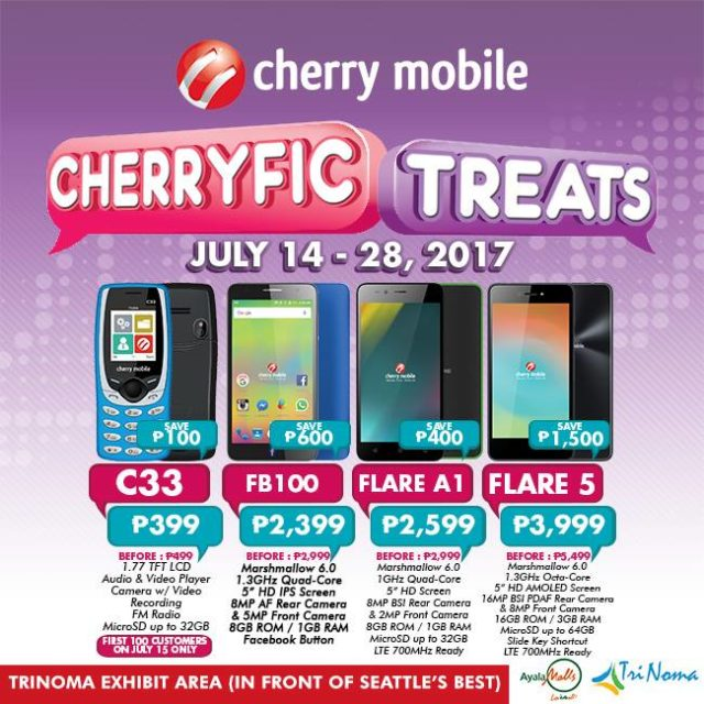 Cherry Mobile Trinoma Sale