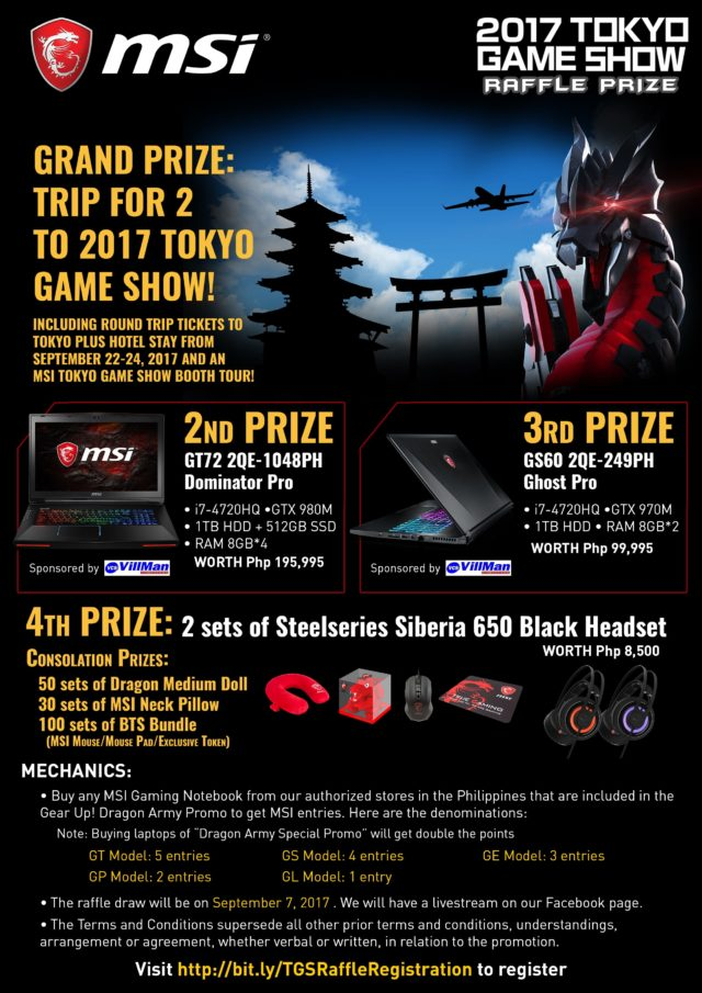 MSI Dragon Army Promo