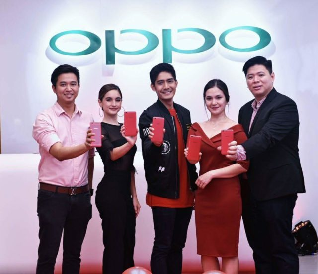 Get the Oppo F3 Red Limited at 0% Interest
