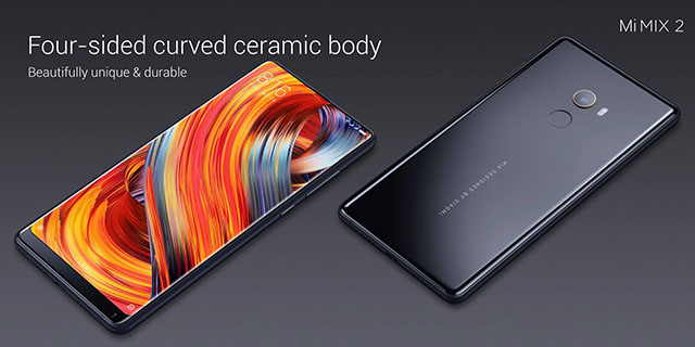 Xiaomi Mi MIX 2 Officially Launched in China, Price and