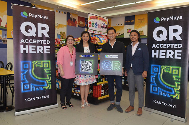 Paymaya: PayMaya QR Allows Cashless Payments For Ministop Chains