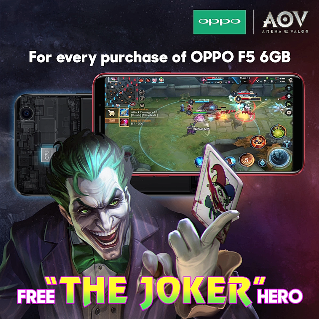 get the last laugh with the joker in arena of valor. Black Bedroom Furniture Sets. Home Design Ideas