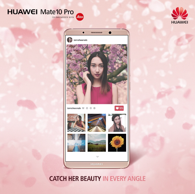 #MateforSoulmate Huawei Mate 10 Pro in Pink Gold