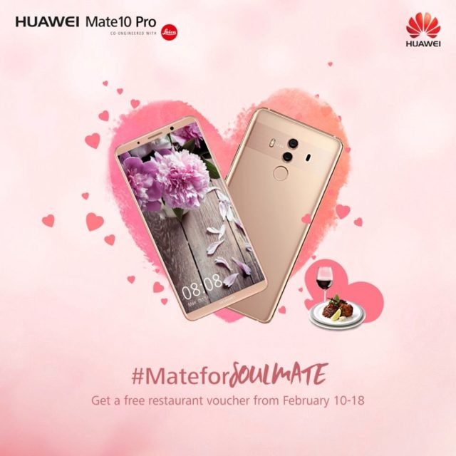 Huawei Mate 10 Pro in Pink Gold