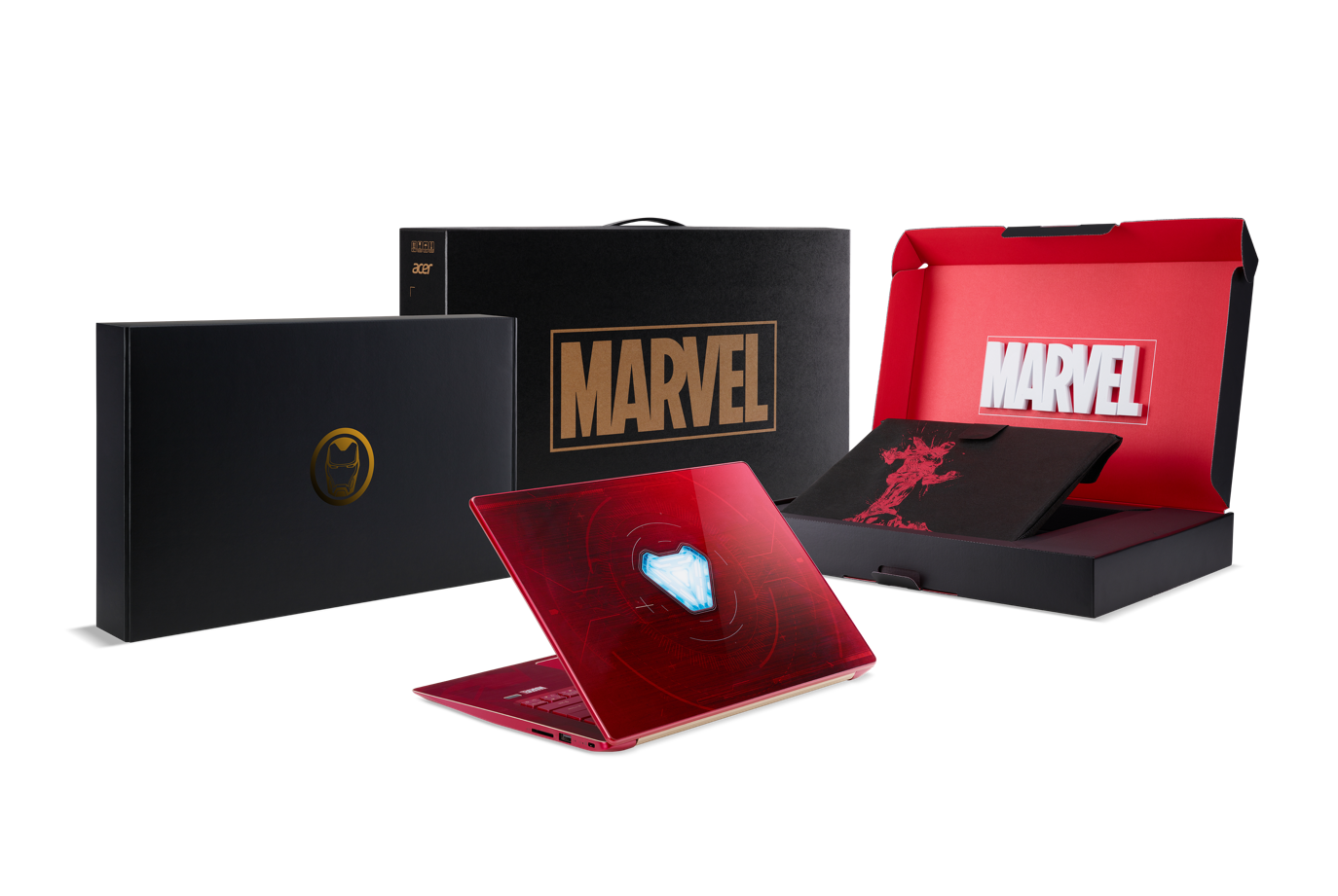 acer infinity war notebook swift 3 iron man edition