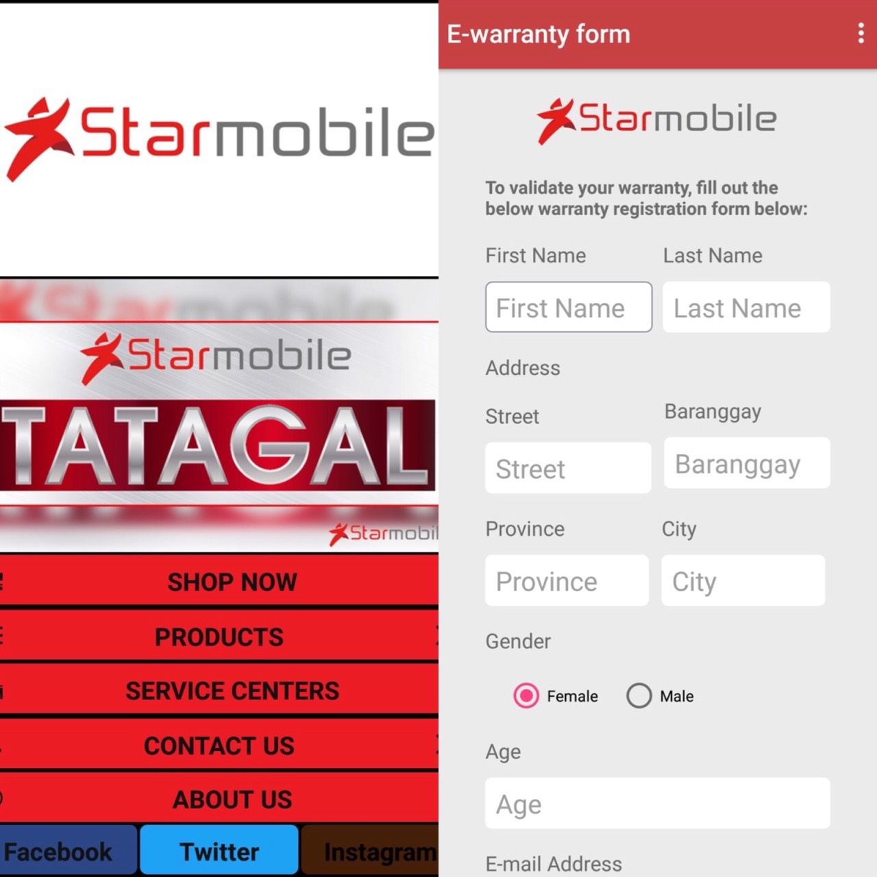 Starmobile introduces aftersales service apps in its smartphones ...