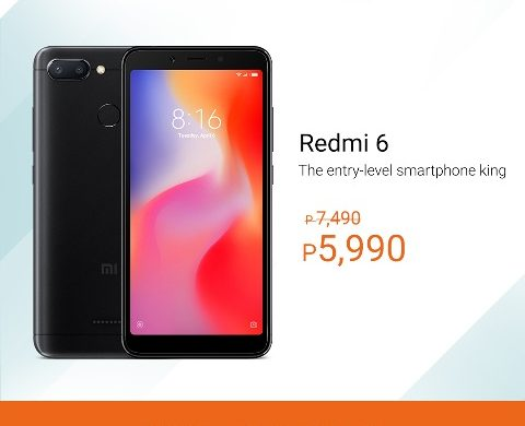 Score big discounts at the 3-day Xiaomi sale on Lazada