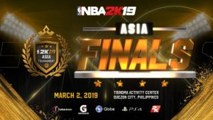 NBA 2K19 Asia Tournament Finals