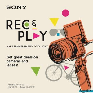 Sony Rec and Play promo