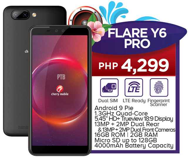 Cherry Mobile Flare Y6 Pro Android 9 Pie Dual Rear And