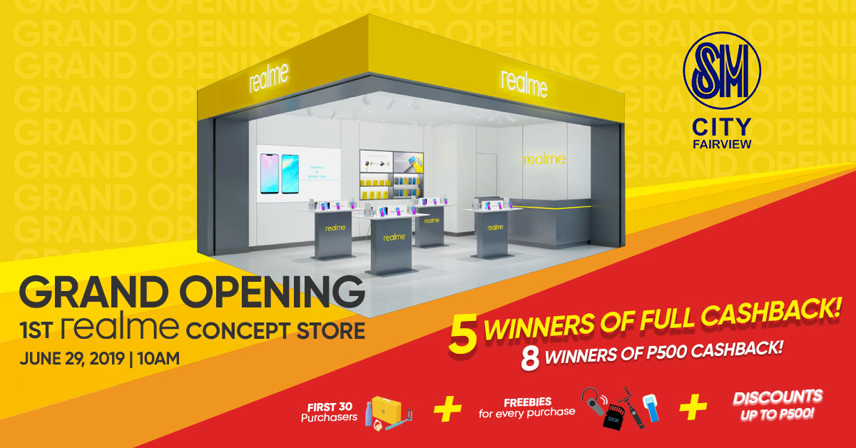 Realme First Concept Store SM Fairview 2