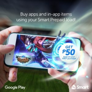 Smart Prepaid load cashback buy apps