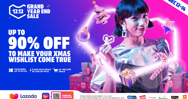 Lazada S 12 12 Year End Sale 2019 Discounts Events Raffle Prizes