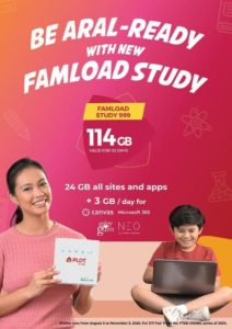 PLDT Home Wifi - FamLoad e-Learning