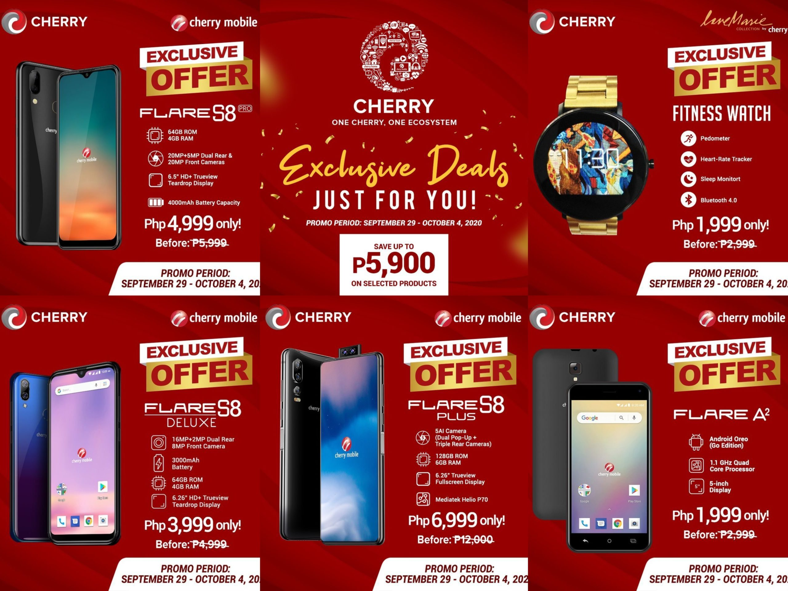 Cherry Mobile Products