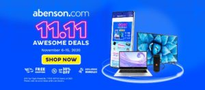 abenson 11.11 awesome deals