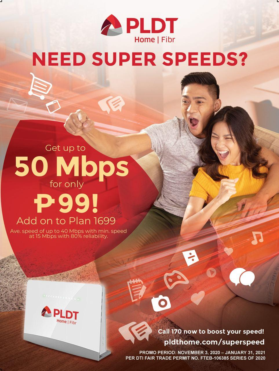 PLDT Super Speed Deals