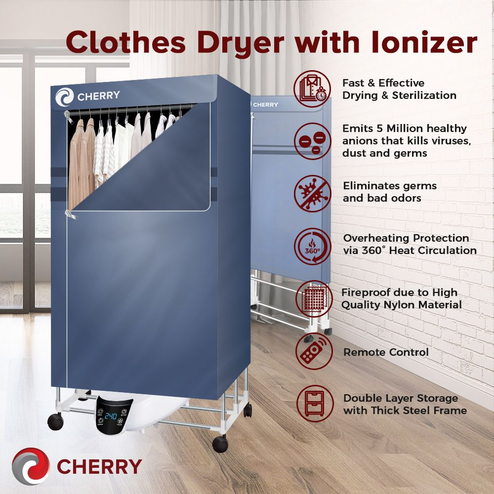 Cherry Home Dryer Ionizer