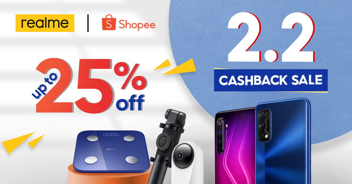 realme joins Shopee's 2.2 sale with exciting deals and promos